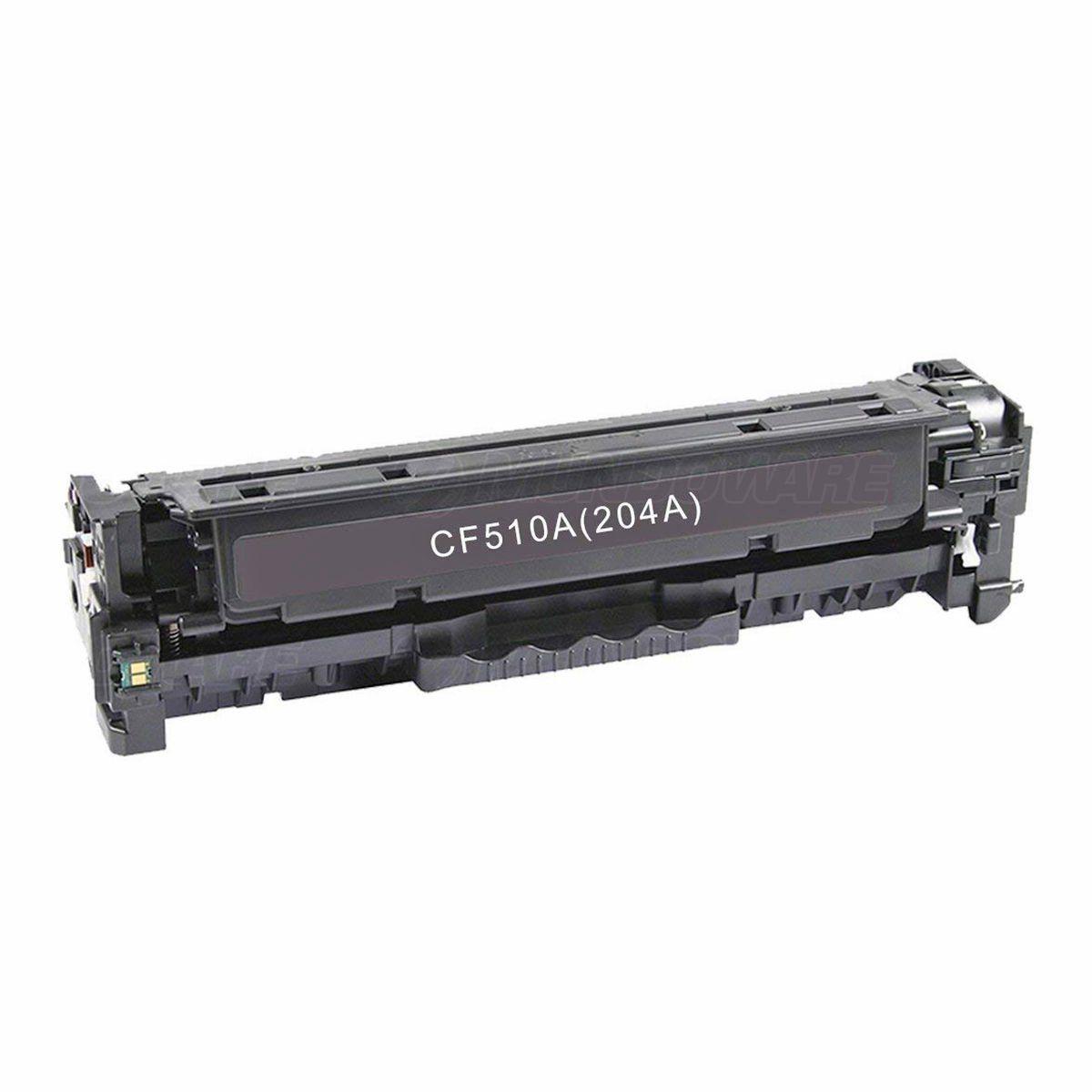 Compatível: Toner CF510A 204A para Impressora HP M154a M154nw M180n M180nw M181 M181fw M-154nw 180nw / Preto / 1.100