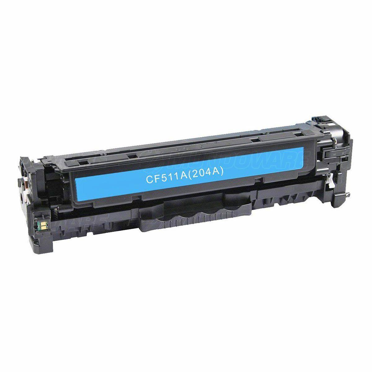 Compatível: Toner CF511A 204A para Impressora HP M180n M180nw M181 M181fw M154a M154nw M-181fw M-180nw / Ciano / 900