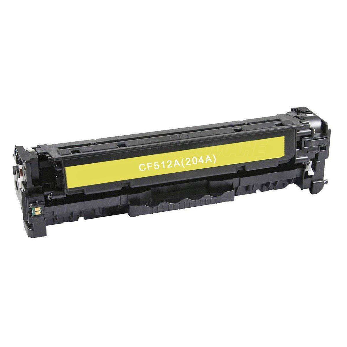 Compatível: Toner CF512A 204A para Impressora HP M181 M181fw M180n M180nw M154a M154nw 180nw 154nw / Amarelo / 900