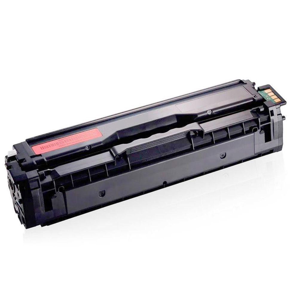 Compatível: Toner CLT-M504S 504S para Samsung CLP-415nw CLX-4195fw CLX-4195fn 4195n CLP415 CLX4195 / Magenta / 1.800