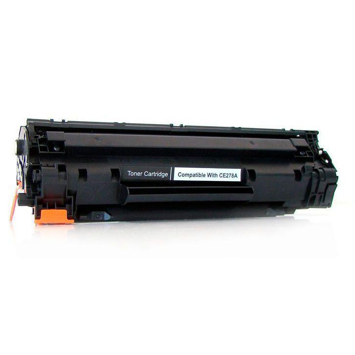 Compatível: Toner CE278A 278A 78A para HP M1536 M1536dnf P1560 P1566 P1600 P1606 P1606n P1606dn M1530 / Preto / 1.800