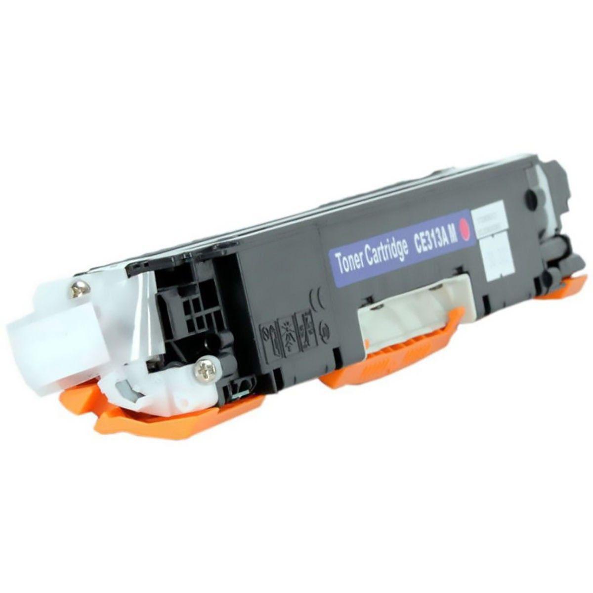 Toner Compatível HP CE313A 126A / CF353A 130A / CP-1020 CP-1025 M175A M175NW M176 M177FW M275NW 175A / Magenta / 1.000