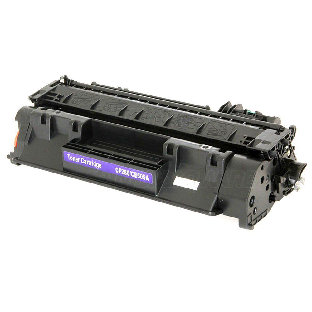Compatível: Toner CE505A CF280A 05A 80A para HP M425 M401n M425dn M401dn M401dw P2035 P2050 P2055 2035 / Preto / 2.700