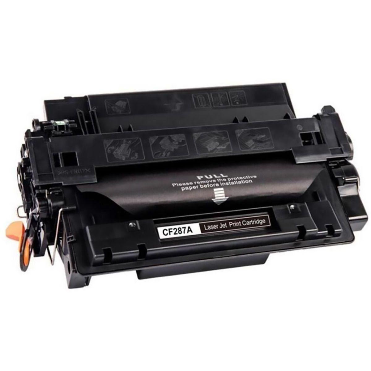 Compatível: Toner CF287A 287A 87A para HP M501 M501dn M506 M506dn M506x M527 M527dn M527c M505x 506n / Preto / 9.000