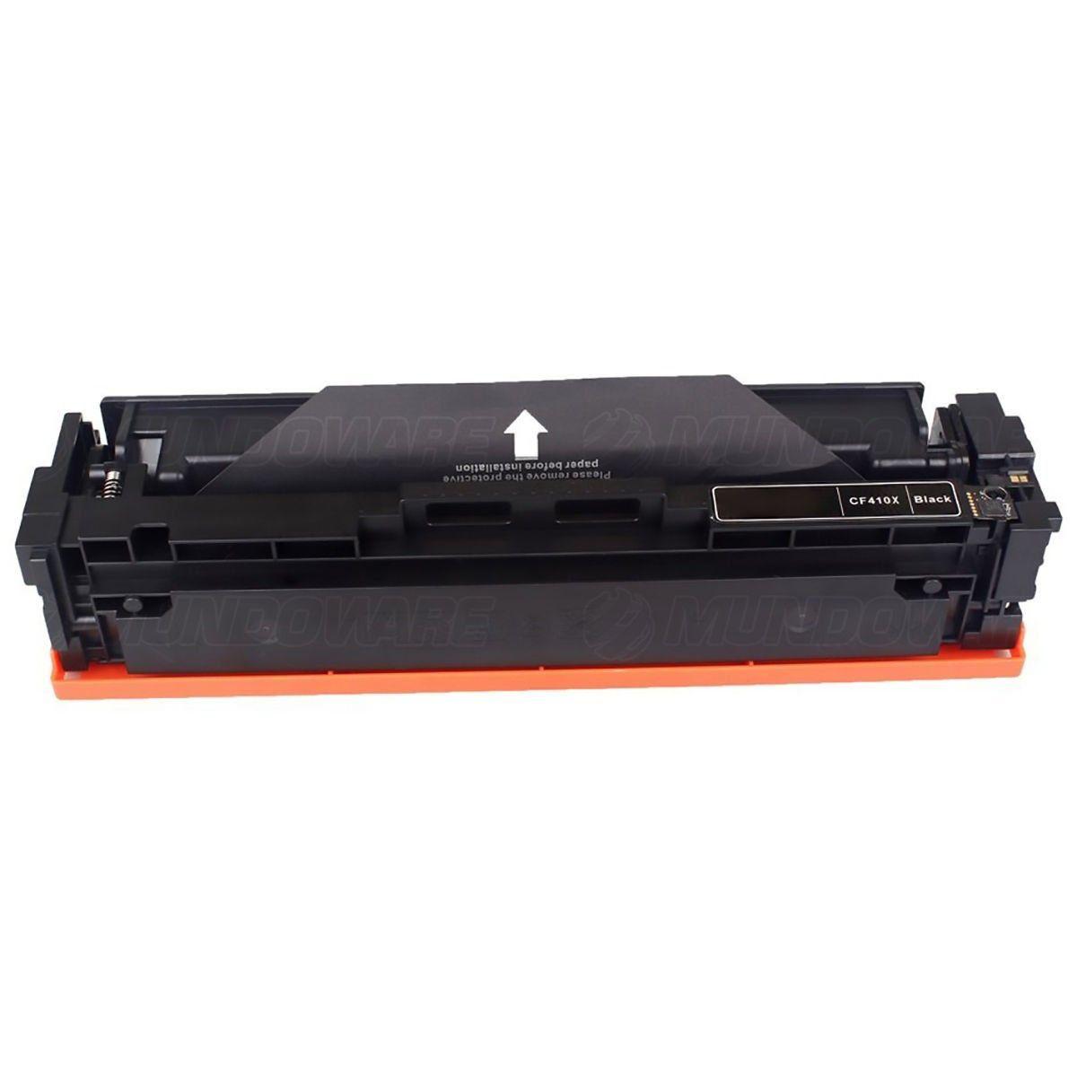 Compatível: Toner CF410X 410X para Impressora HP M477fdw M452dn M477fnw M452nw M477 M452 M-477fdw / Preto / 6.500