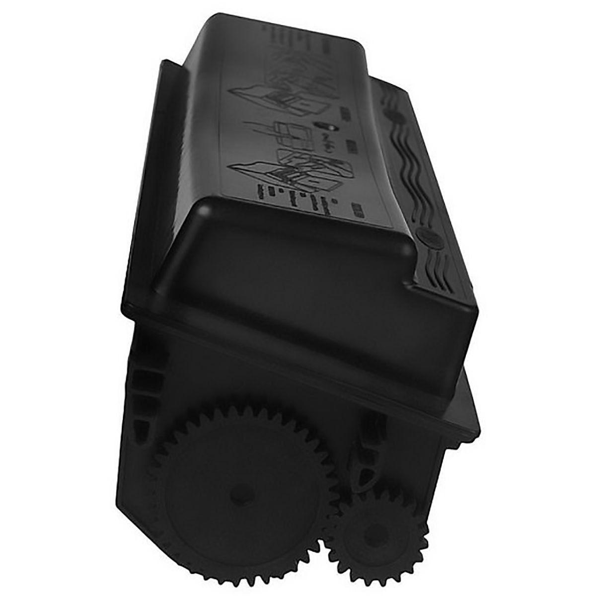 Compatível: Toner TK130 TK132 TK140 para Kyocera FS-1010 FS-1100 FS-1390 FS-1010n FS-1300d FS-1128mfp / Preto / 7.200