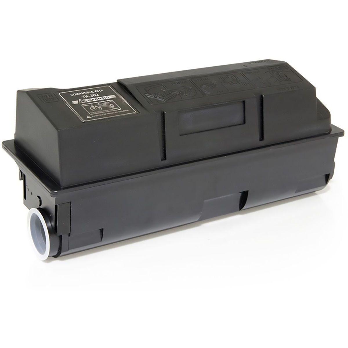 Compatível: Toner TK360 TK362 para Impressora Kyocera FS4020 FS4020d FS4020dn FS-4020 4020d 4020dn / Preto / 20.000