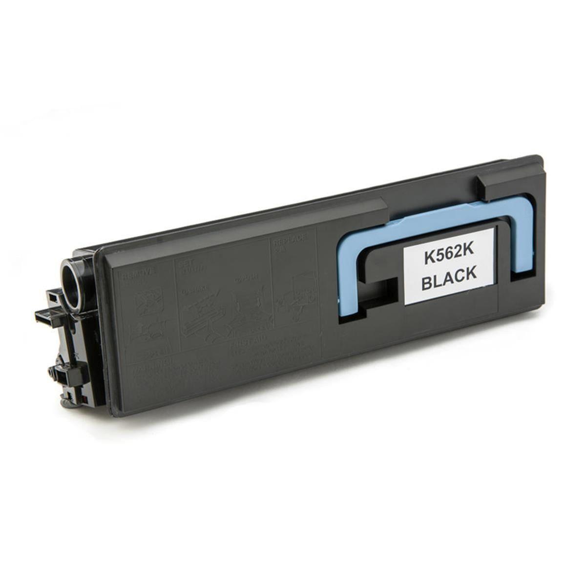 Compatível: Toner TK-562K TK562 para Kyocera FS-C5300 FS-C5350 FS-C5300dn FS-C5350dn FSC5300 FSC5350 / Preto / 12.000