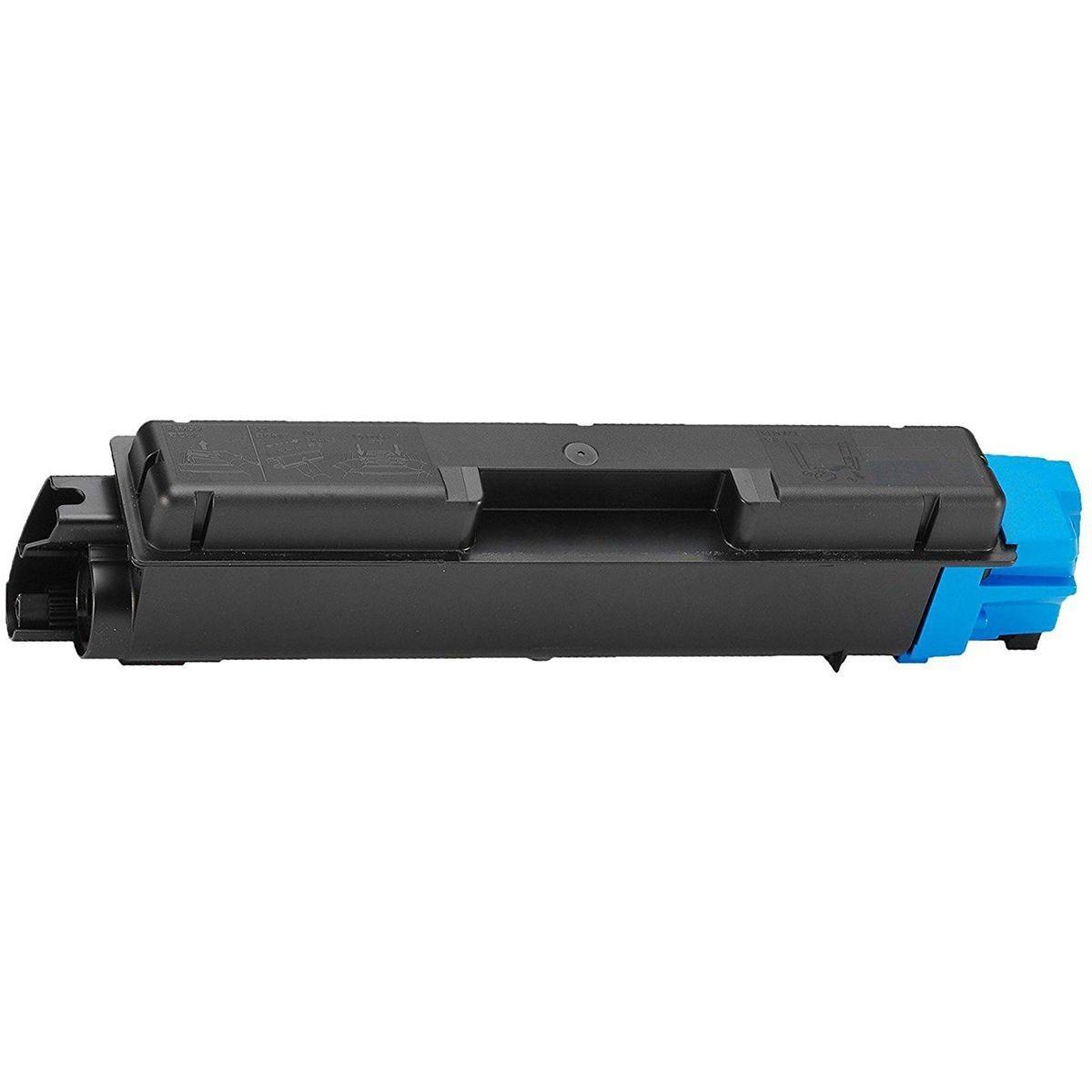 Compatível: Toner TK-582C TK582 para Kyocera FS-C5150dn FS-C5150 FSC5150dn FSC5150 P6021cdn P6021 / Ciano / 2.800