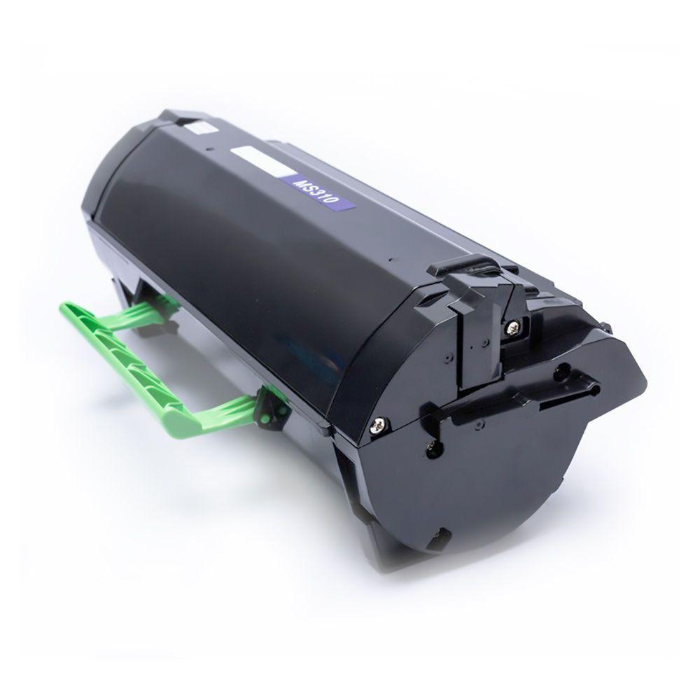 Compatível: Toner 504H para Lexmark MS310 MS310d MS310dn MS410 MS410dn MS415 MS510 MS510dn MS610dn / Preto / 10.000