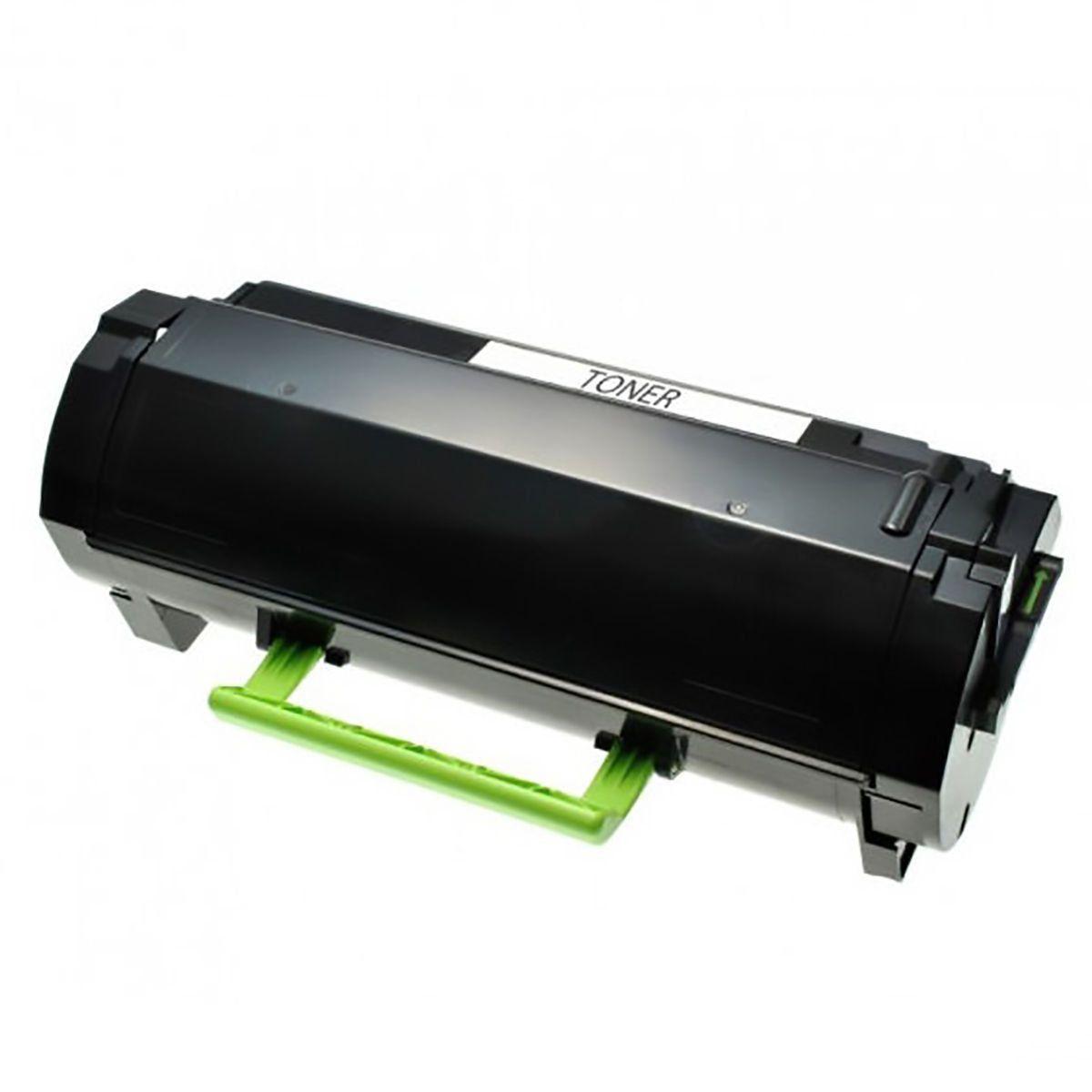 Compatível: Toner 604H 60FBH00 para Lexmark MX310 MX410 MX511 MX611 MX310dn MX410de MX511dhe MX611de / Preto / 10.000