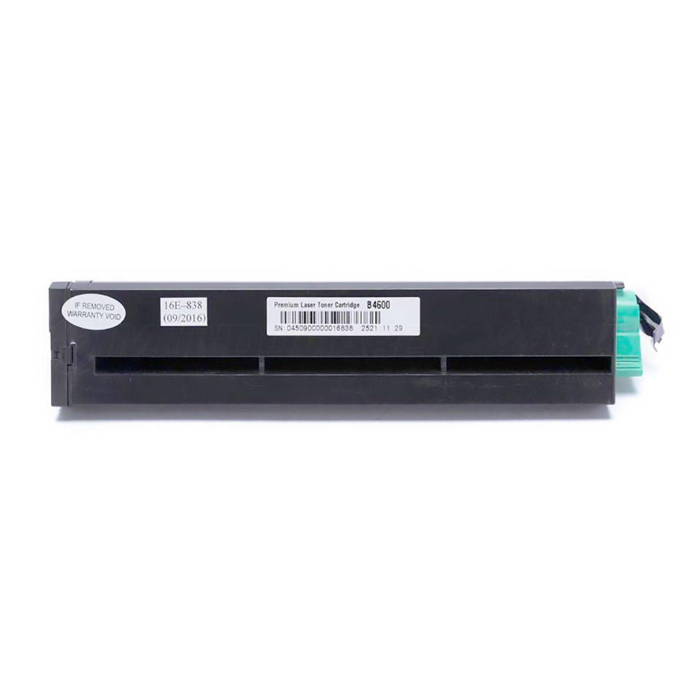 Compatível: Toner O4600H para impressora Okidata B4600 B4600N B-4600 B-4600N / Preto / 7.000