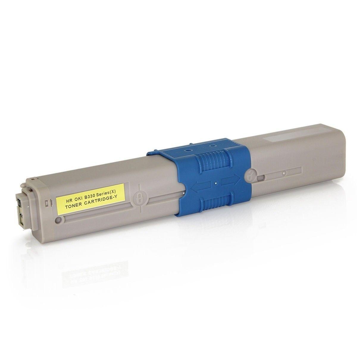 Compatível: Toner C330 C530 para Okidata C331 MC362 CE310dn MC562 C310dn C531dn MC362w MC561 C530dn / Amarelo / 3.000