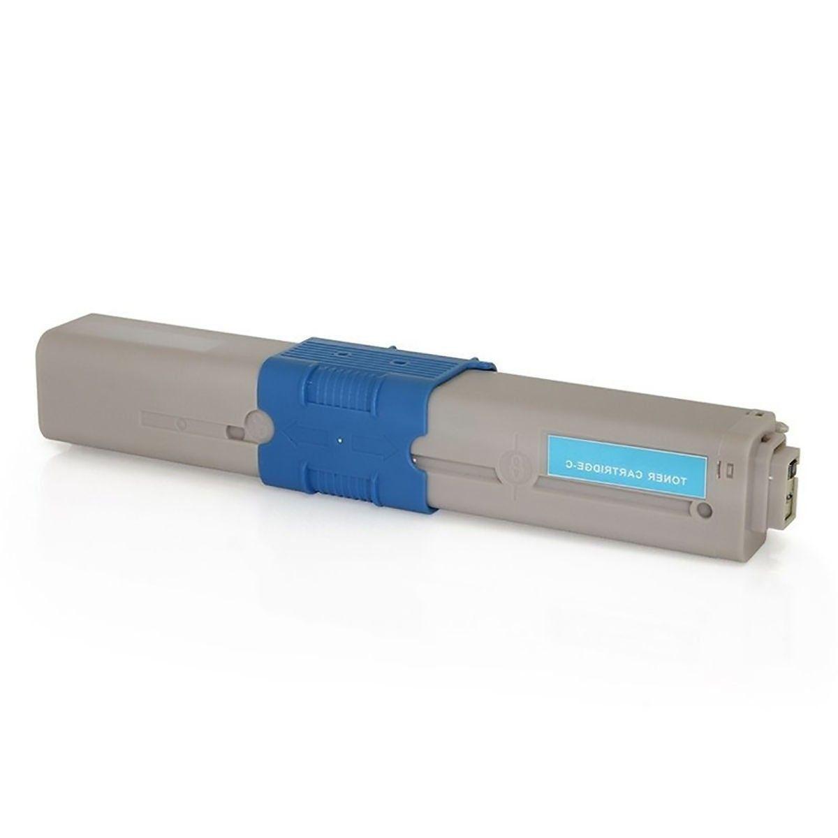 Compatível: Toner C330 C530 para Okidata MC351 C310n MC361dn C331 MC362 CE310dn MC561 C530dn C330dn / Ciano / 3.000