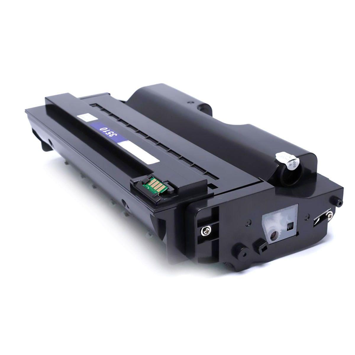 Compatível: Toner SP3510 para Ricoh SP3500n SP3510dn SP3500sf SP3500 SP3400  SP-3500 SP-3510 SP-3510dn / Preto / 6 400