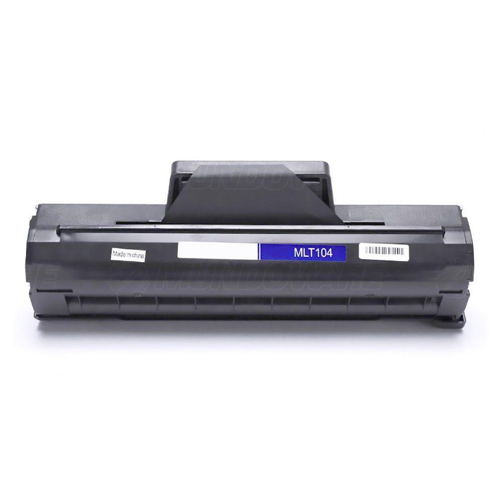 Compatível: Toner D104 MLT-D104S para Samsung SCX3200 ML1660 ML1665 SCX-3200 3201 3205 ML-1660 1665 / Preto / 1.500