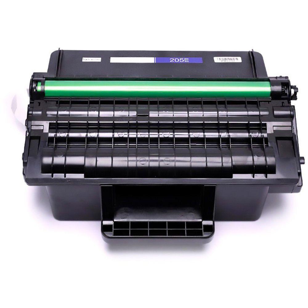Compatível: Toner MLT-D205E 205E para Samsung ML-3710nd ML-3712nd SCX-5637fr 5639fr 5737 SCX-5739 / Preto / 10.000