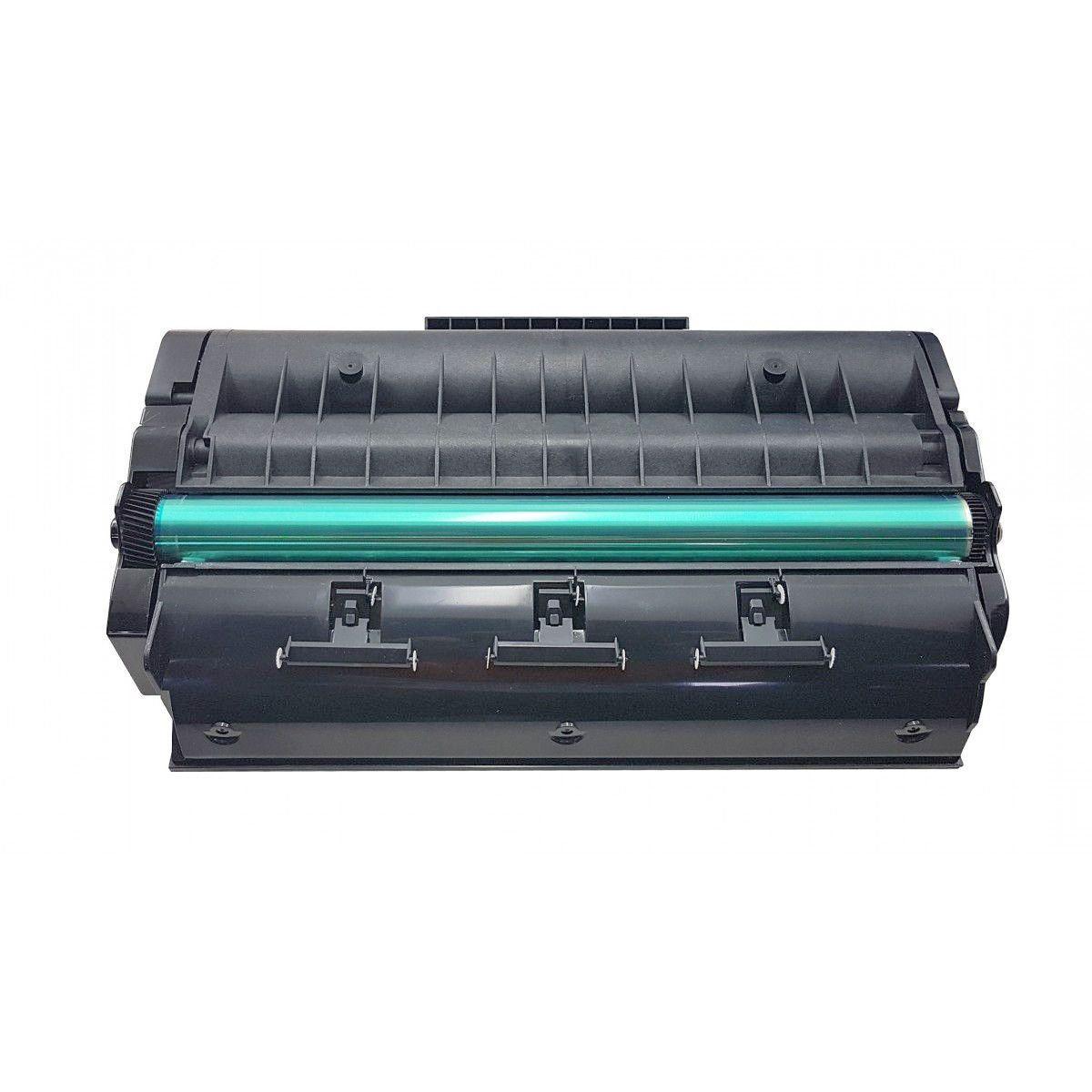 Compatível: Toner SP377 para Ricoh SP377sfnwx SP377dnwx SP-377sfnwx SP-377dnwx SP377sfnw-x SP377dnw-x / Preto / 6.400