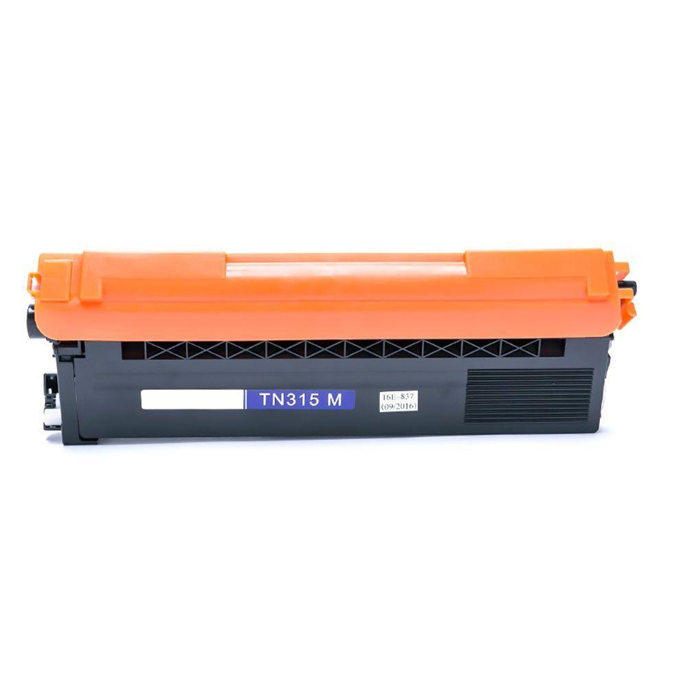 Compatível: Toner TN310 TN315 para Brother HL4140 HL4150 MFC9560cdw DCP9055 MFC9460 MFC9970 MFC9465 / Magenta / 3.500
