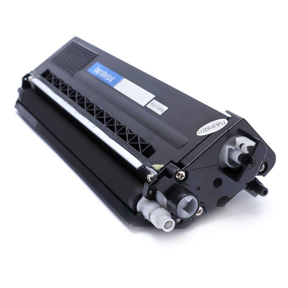 Compatível: Toner TN310 TN315 para Brother HL-4150cdn HL-4570cdw HL-4140cn MFC-9460cdn DCP-9055cdn / Preto / 6.000
