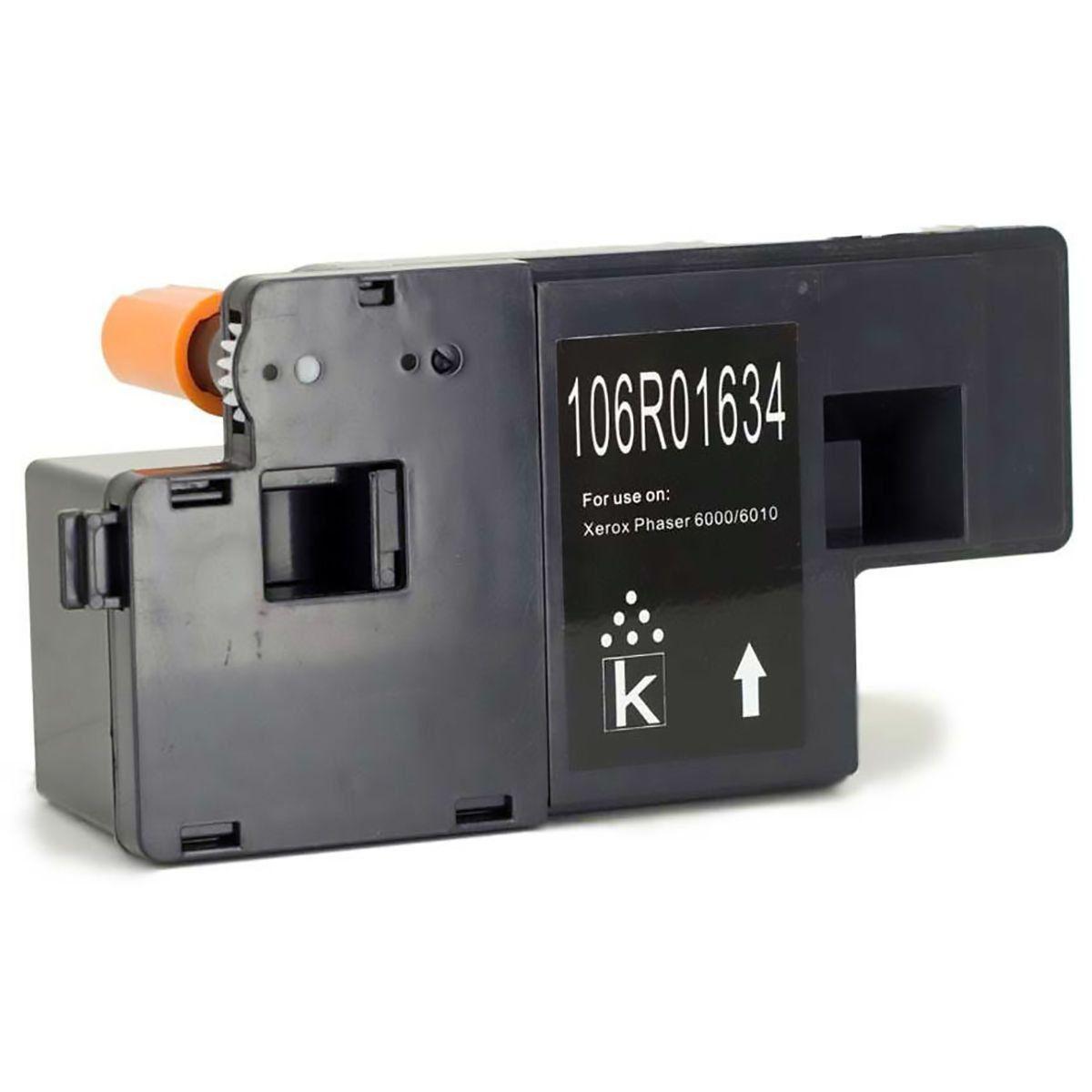 Compatível: Toner 106R01634 para Impressora Xerox Phaser 6000 6010 WorkCentre 6015 6015b 6015ni / Preto / 2.000