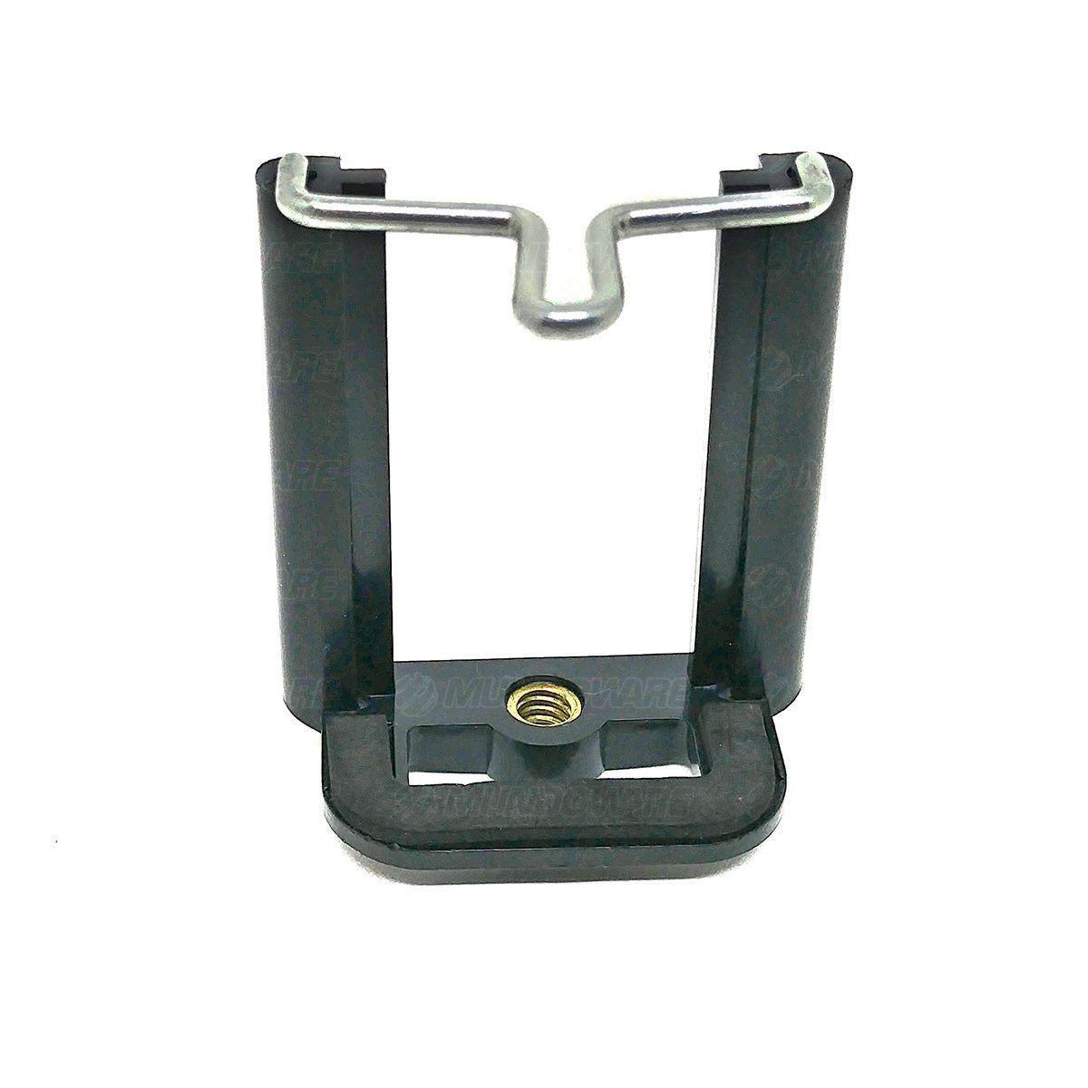 Tripé Flexível Almofadado para Fotografia com Clipe Ajustável para Smartphone / Azul
