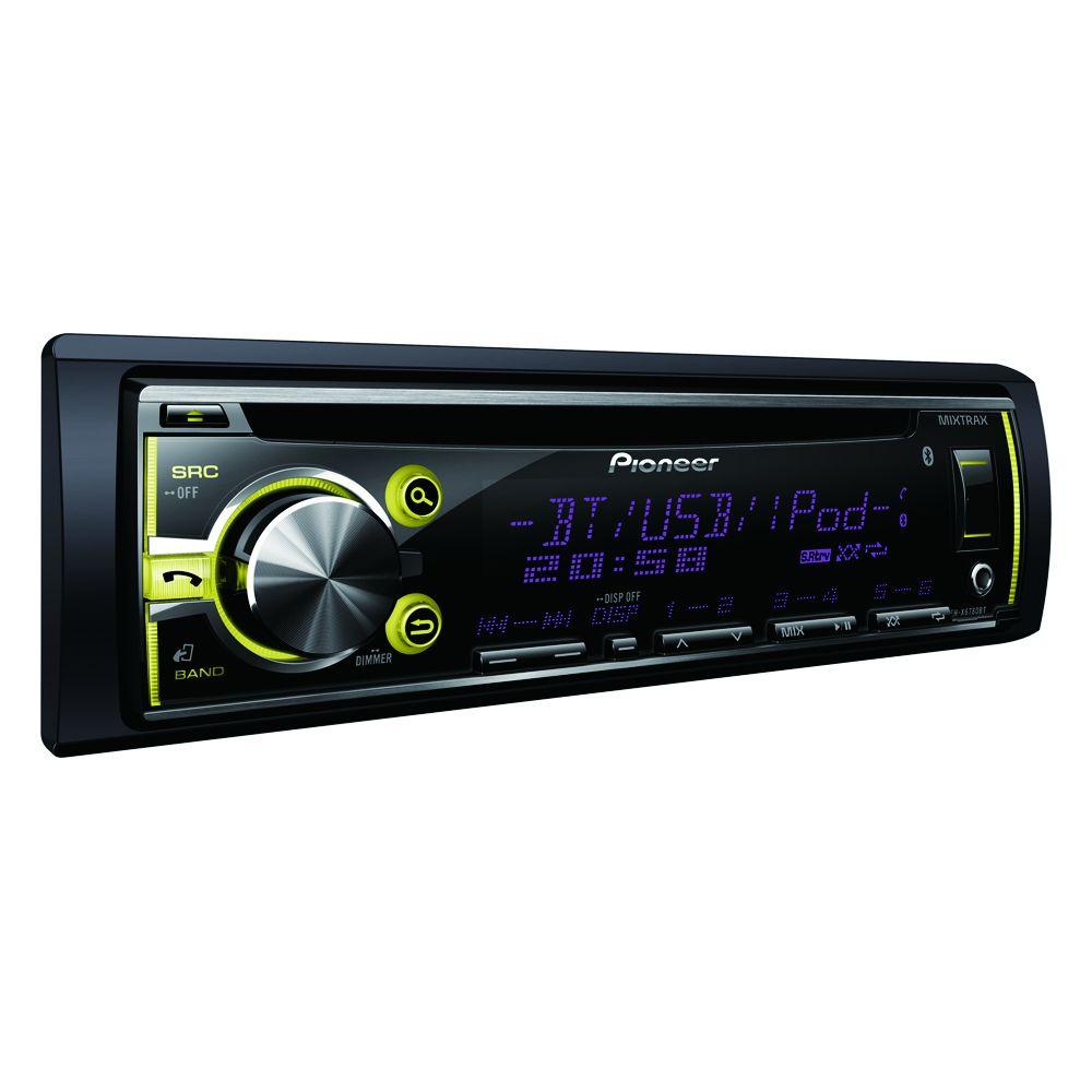 Cd Player Automotivo Pioneer DEH-X6780BT com Bluetooth Usb Cd Mp3 Mixtrax