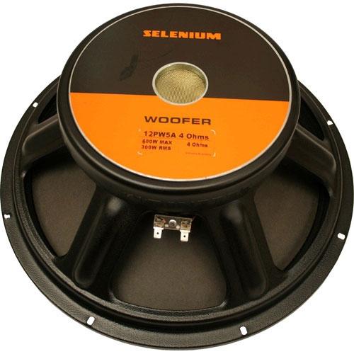 """Woofer JBL Selenium Quatro 12PW5A - 12"""", 300W RMS, 4 ohms"""