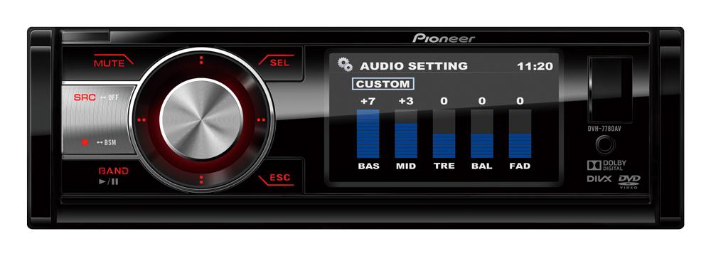 Dvd Player Automotivo Pioneer AVH-7780AV Usb 3 Polegadas