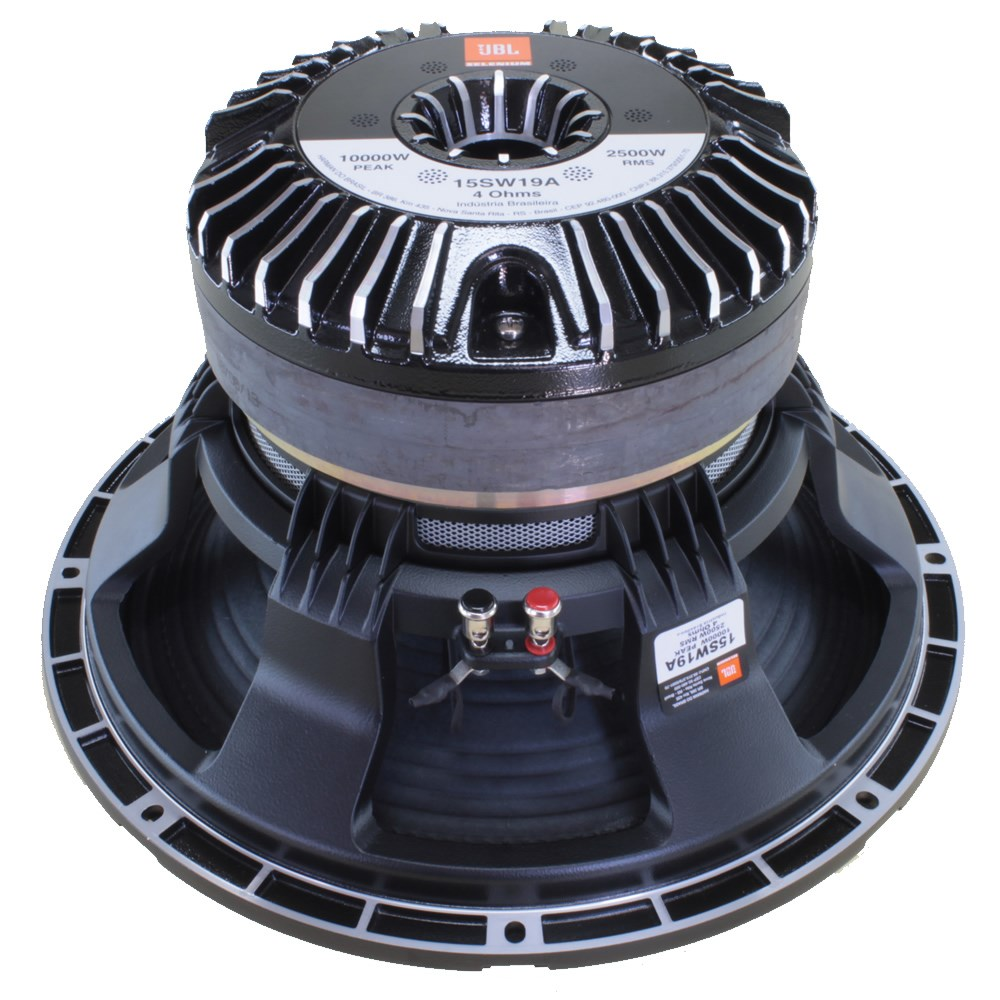 "Subwoofer 15"" JBL Selenium Tornado 15SW19A - 2500 Watts RMS"