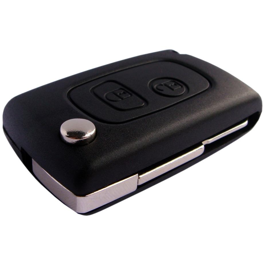 Chave Canivete Peugeot Slim 206 207 Hoggar - Alarme Original