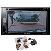 Dvd Player Automotivo Pioneer Avh-x2780bt + Camera de Ré Bluetooth 2din Mixtrax