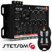 Mesa Crossover Stetsom STX82+Controle Longa Distância SX-2 500m Preto