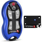 Controle Longa Distância Stetsom SX2 500 Metros Azul Alcance Control