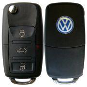 Chave Canivete Original Volkswagen Polo C/ Telecomando Vw