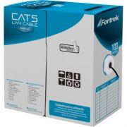 Cabo de Rede CAT5 CAT-103/100BL Preto Fortrek