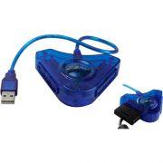 Conversor PS2 para PC/PS3 FXADP01 AZUL FLEX