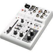 Mesa de SOM AG03 Branca Yamaha