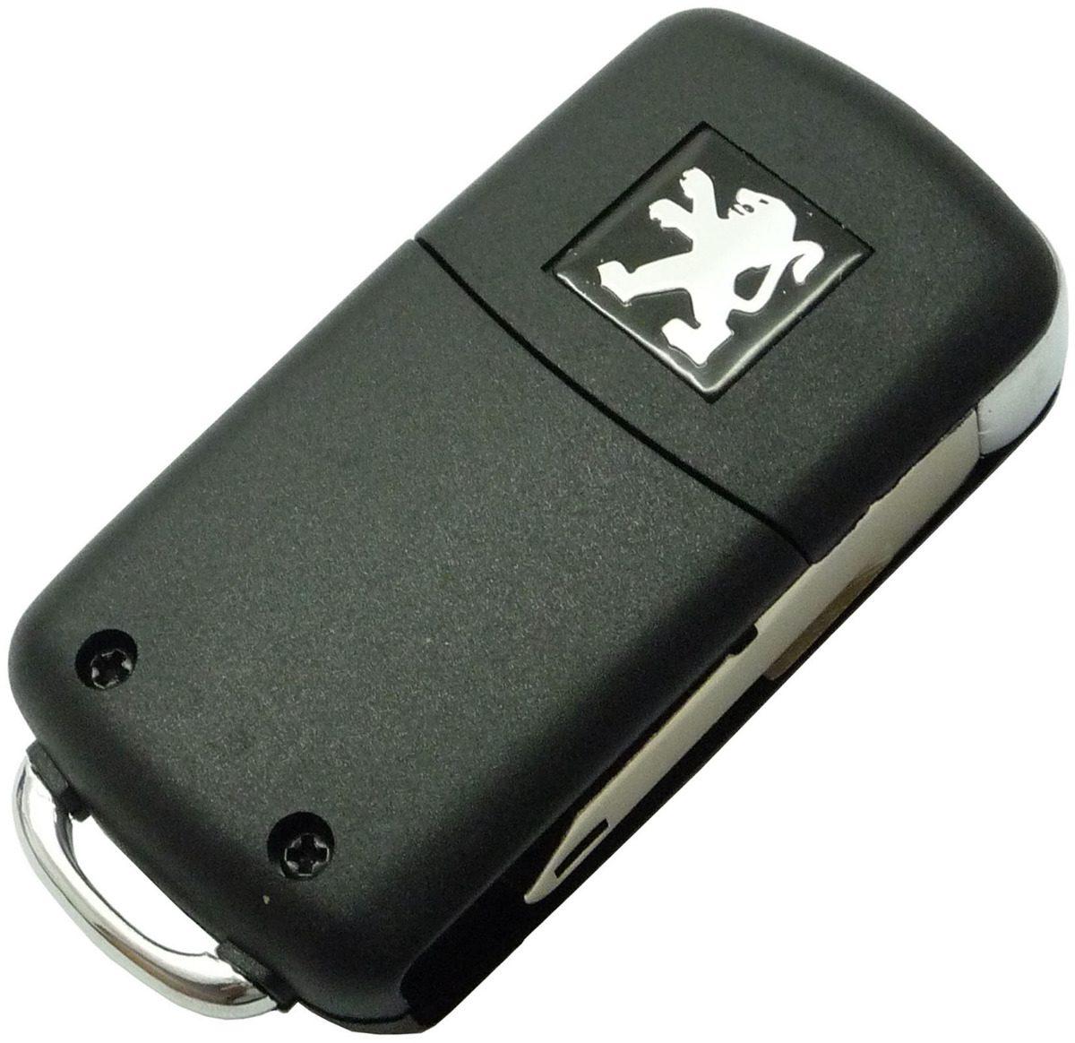 Chave Canivete Peugeot Para Telecomando 206 , 207 , Hoggar