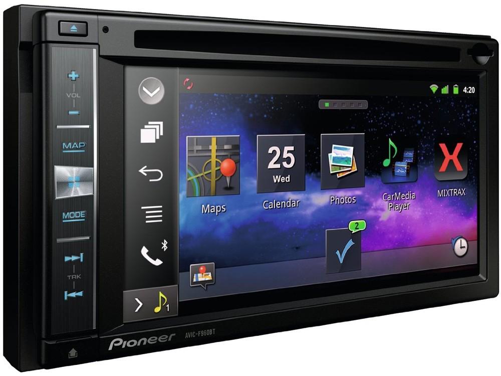 Central Multimídia Pioneer AVIC-F960BT com Bluetooth / GPS / Mixtrax / Android / iPhone / MirrorLink