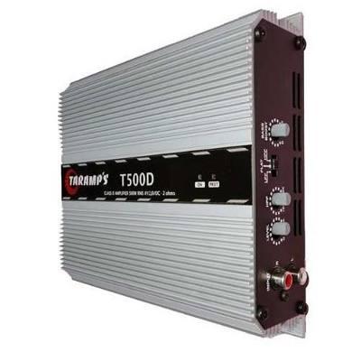 Modulo Amplificador Automotivo Taramps T 500D 2 ohms 500 Wrms Carro