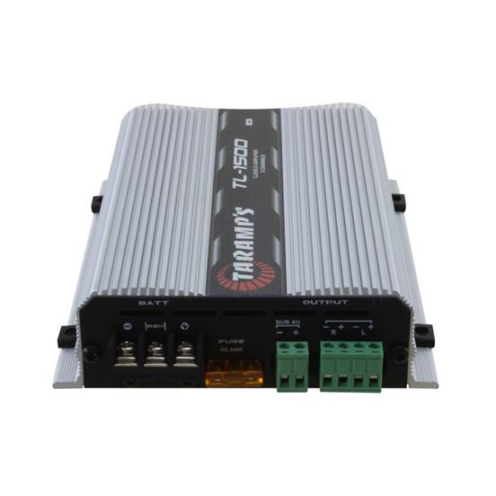 Módulo Amplificador Automotivo Digital Taramps TL-1500 - 3 Canais - 390 Watts RMS