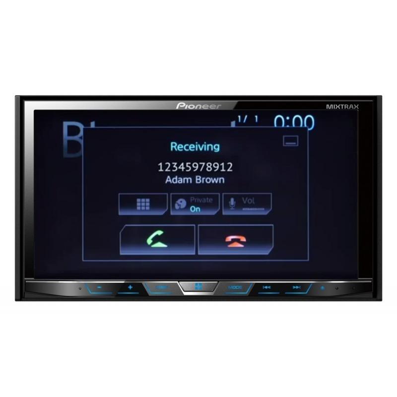 Dvd Player Automotivo Pioneer Avh-x5780TV + Camera de Ré Touch Screen 2 Din Bluetooth Tv Digital