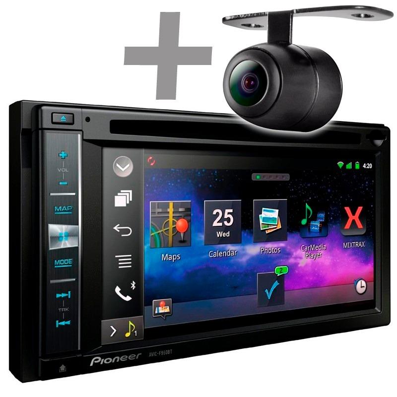 Central Multimídia Pioneer AVIC-F960BT + Camera de Ré com Bluetooth / GPS / Mixtrax / Android / iPhone / MirrorLink