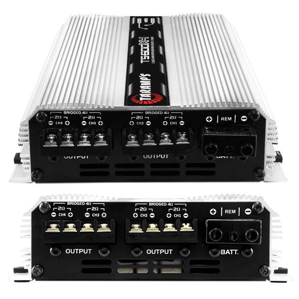 Módulo Taramps Ts 600x4 600w Rms 4 Canais 2 Ohms Amplificador