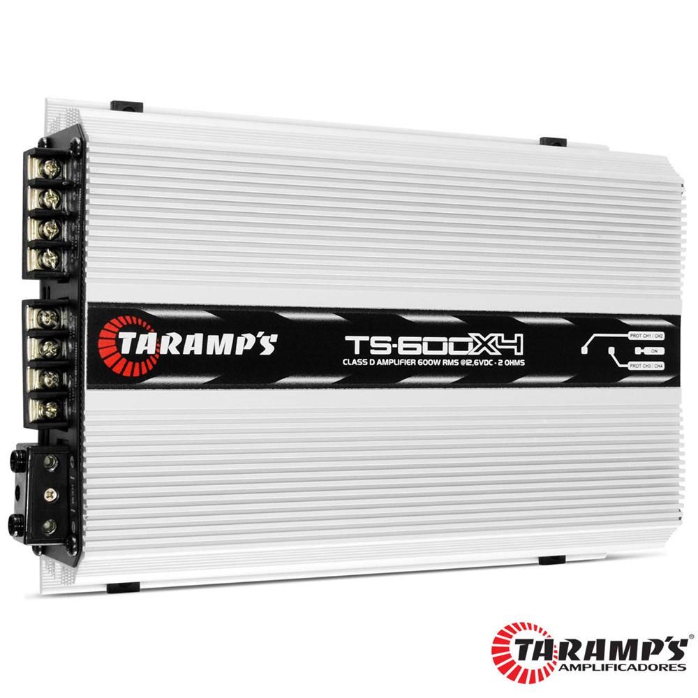 Módulo TS 800X4 2 Ohms 800W RMS 4 Canais TARAMPS
