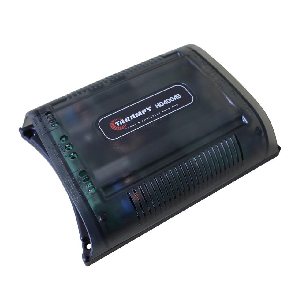 Módulo Amplificador Digital Taramps HD 400.4S - 4 Canais - 400 Watts RMS