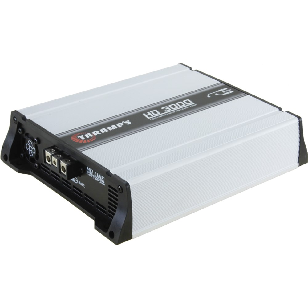 Módulo Amplificador Automotivo Taramps HD3000 - 3000 Watts RMS 2 Ohms