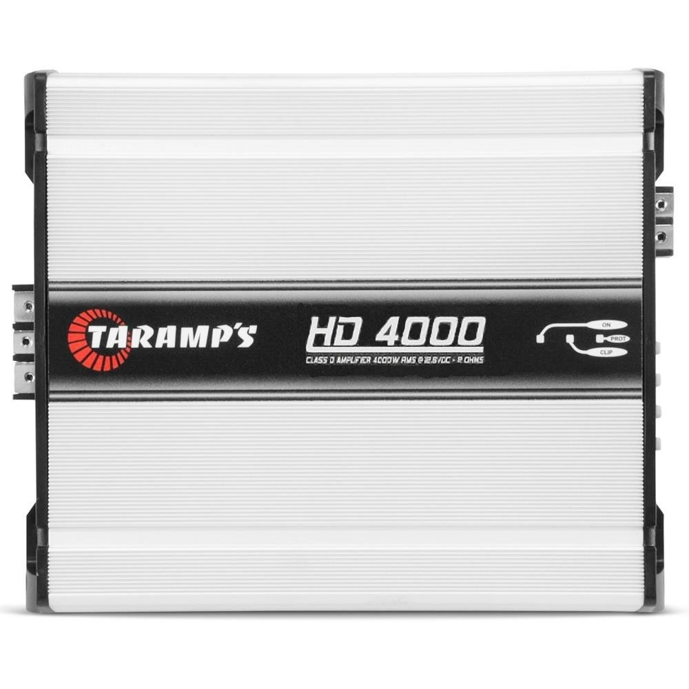 Módulo Amplificador Automotivo Taramps HD4000 - 4000 Watts RMS 1 Ohms