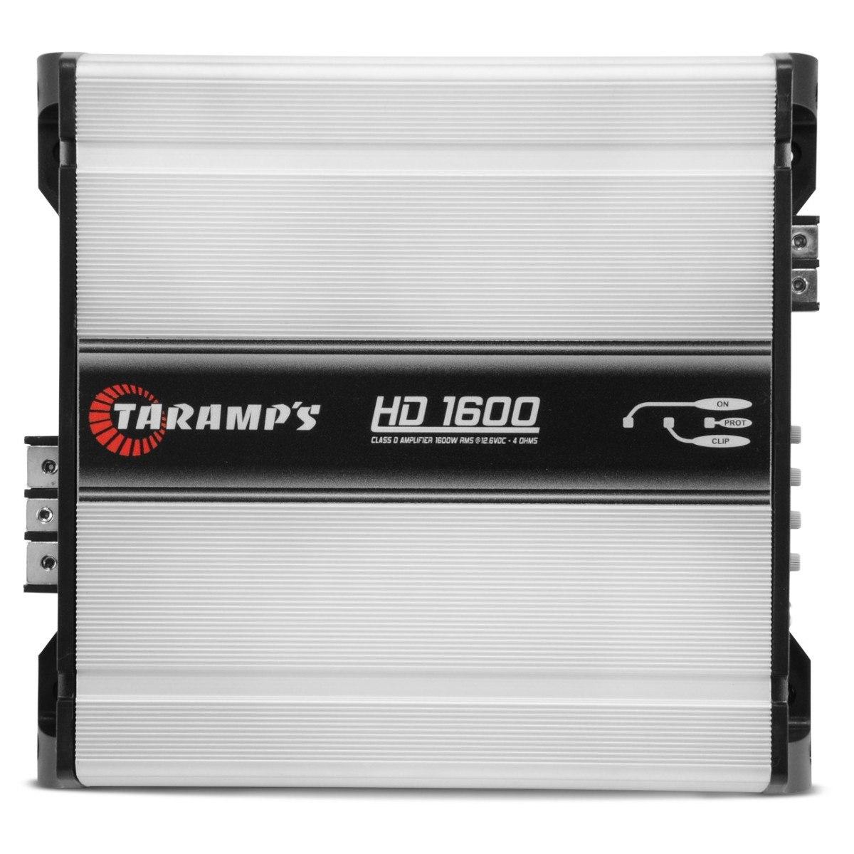 Módulo Taramps HD-1600 Digital 1 Canal 1.600W RMS 2 Ohms